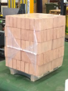Horizontal Pallet Packaging - Bricks