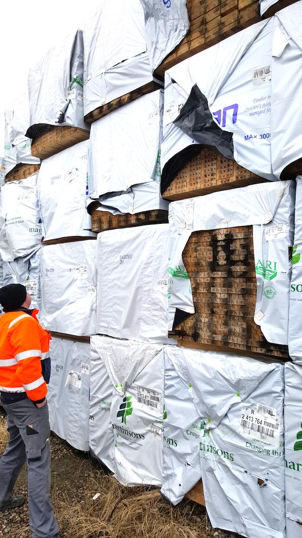 Sawmill packaging
