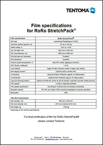 Film specifications